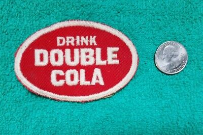 RARE 1950s DRNK DOULBLE COLA SODA BEVERAGE POP PATCH