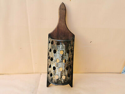 Old Antique Primitive Hand Made Grater For Vegatables Early 20Th