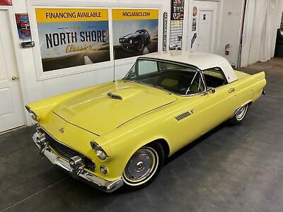 1955 Ford Thunderbird Nice Quality Driver TBird - SEE VIDEO Yellow Ford Thunderbird with 0 Miles available now!