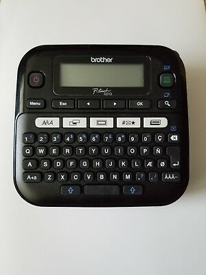 NEW Brother P-Touch PTD210 Label Maker Multiple Font Styles, Black