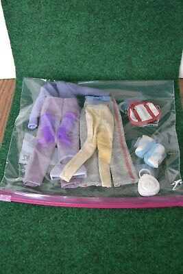 Barbie Collection of outfits, including shoes, purses, etc. Used by Mattel