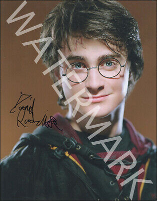 Daniel Radcliffe Signed 10X8 Photo, Great Harry Potter Image, Looks Great Framed