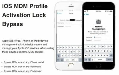 APPLE MDM BYPASS IPHONE /IPAD /IPOD iOS 13.4.1 SUPPORTED
