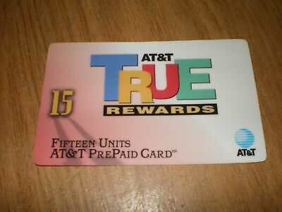 1996 AT&T True Rewards Collectible Phone Card
