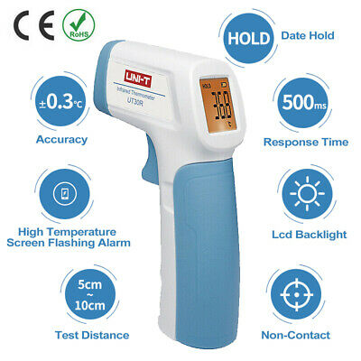 Digital Non Contact Forehead IR Infrared Body Thermometer Temperature Meter ℃/℉