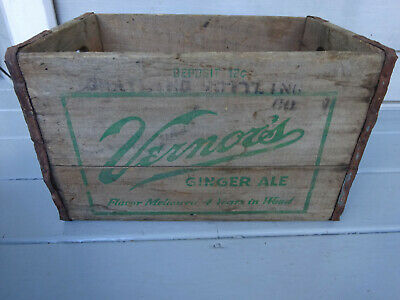 1950's Vernors Crate