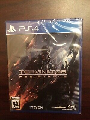 Terminator Resistance PS4 (Brand New/ Sealed) Rare!