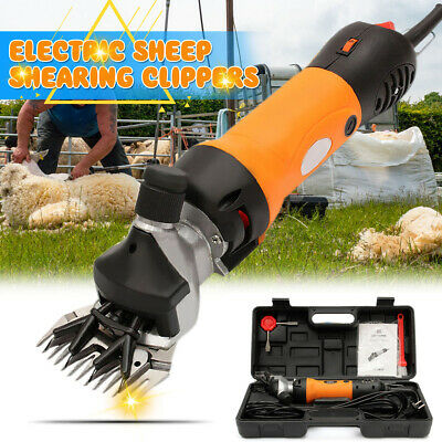 110V 690W Electric Farm Supplies Sheep Goat Shearing Animal Grooming Clipper US