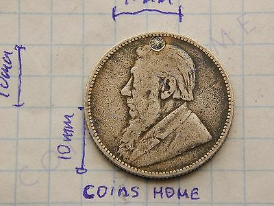 CоinsHоme Circulated 1892 SOUTH AFRICA 1 Shilling silver Lot#AR5 Uncertified