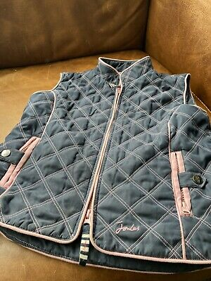 Little Joules Girls Gilet Aged 8-9