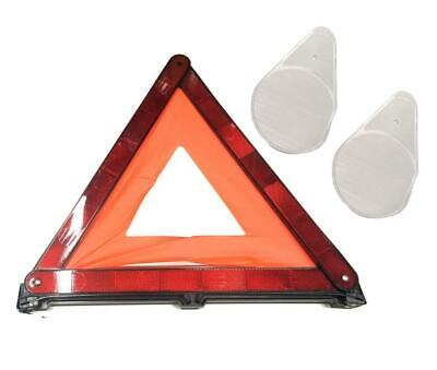 Safety Triangle Accident Hazard Breakdown Warning with Headlight Beam Benders