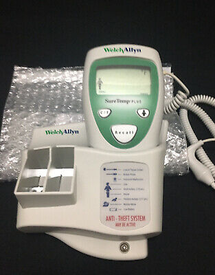 Welch Allyn SureTemp Plus 690 Thermometer with Probe and Wall Mount