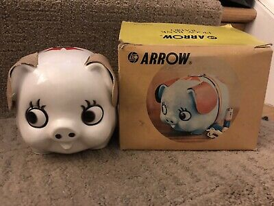 Piggy Bank Radio. By Arrow. Vintage. New In Box. Works.