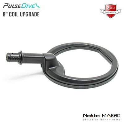 "New Nokta / Makro Pulsedive 8"" Coil (Yellow / Black) - Detecnicks Ltd"