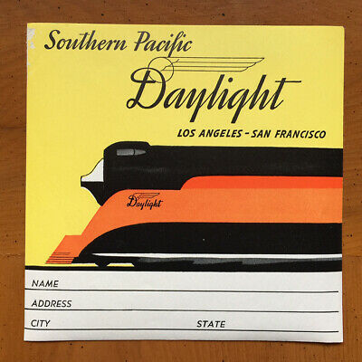 Hotel Luggage Label | Southern Pacific Daylight Railway | FINE