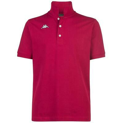 Kappa Polo Logo Sharas Mss Red Scarlat