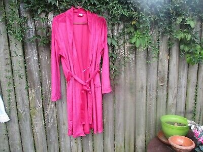 ULTA Beauty Pink Womens Robe with Belt  L/XL Soft Plush /Nightgown/sandals Pink