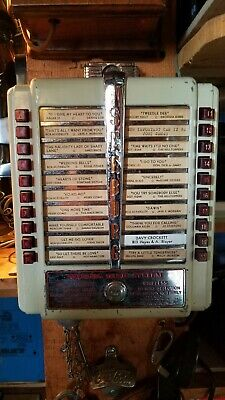 Original 1950s Seeburg Juke Box Music Head.