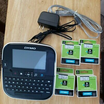 Dymo D1 Portable LabelManager 500TS Touchscreen Thermal Label Maker Printer