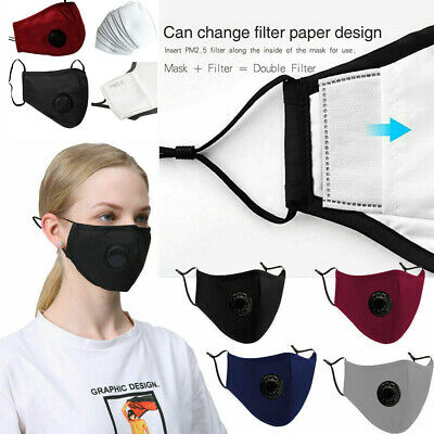 New 10 Filter with Face Mouth Protective Covering Washable Reusable Adult Unisex