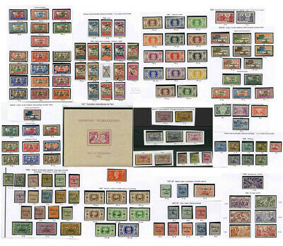 WALLIS + FUTUNA France Colonies 1920-50 Mint Stamps and Sets.. PRICED EACH GROUP