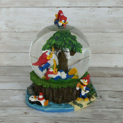 Woody the Wood Pecker Snow Globe EXTREMELY RARE- Walter Lantz Cartoon Colectable