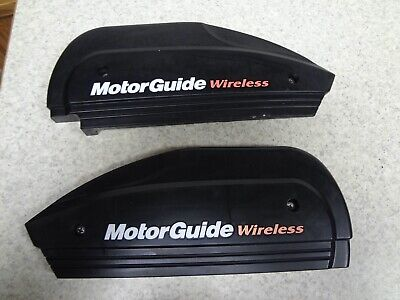 Motorguide Wireless Trolling Motor W45 Left & Right Covers With Screws Nice