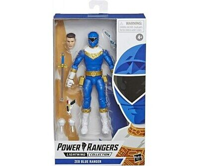 Power Rangers Lightning Collection 6-Inch Zeo Blue Ranger Collectible [Toy]