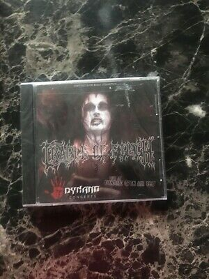 cradle of filth live at dynamo open air 1997 cd factory sealed black metal
