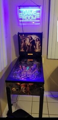 ZIZZLE Pirates of the Caribbean Dead Man's Chest Pinball Machine 3 Day Auction!