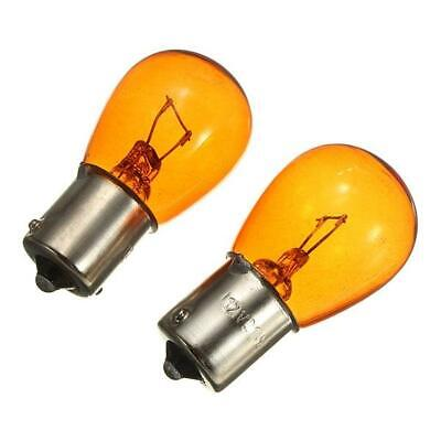 2x Van Mpv Replacement W21W 581 Offset 12v 21w Indicator Light Amber Bulbs