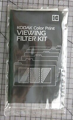 Kodak Color Print Viewing Filter Kit, Color Correction 6 Filter