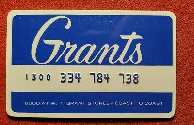 Grants Charge Card Blue ♡Free Shipping♡cc189