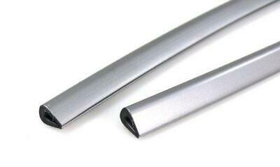 New Bump Stop Quality Car Door Guard Push On Edge Strip Dent Panel Slide Grey