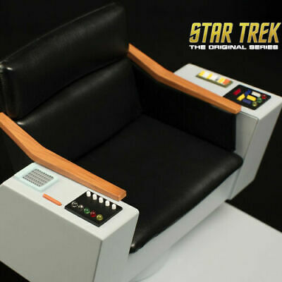 QMX Star Trek TOS Captains Chair 1:6 Scale NEW SEALED