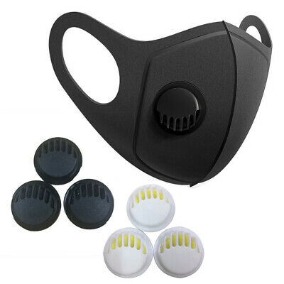 20Pcs/Set Dustproof Replaceable Face Mouth Cover Air Breathing Valves Accessory