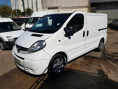 2012 Vauxhall Vivaro 2.0CDTI [90PS] Van 2.7t 4 DOG TRANSPORT VAN PANEL VAN Diese