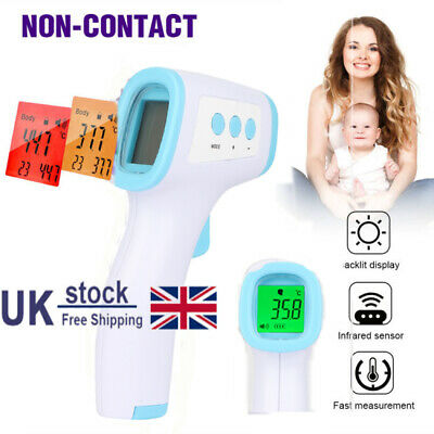 IR Infrared Digital Termometer Non-Contact Baby/Adult Body Forehead Thermometer
