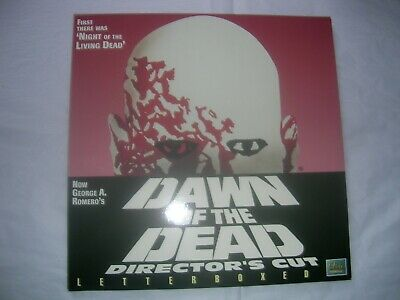 Dawn Of The Dead.(1978).Laserdisc.ld.letterboxed.elite. Ee 3296.Ntsc.1996.Ex/Nm.