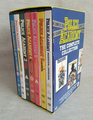 Police Academy 1-7 | The Complete Collection | 7 DVD Boxset