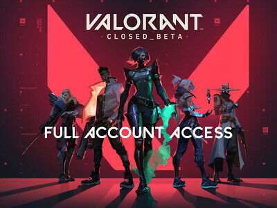 Valorant NA Account   Full Account Access [FAST DELIVERY]