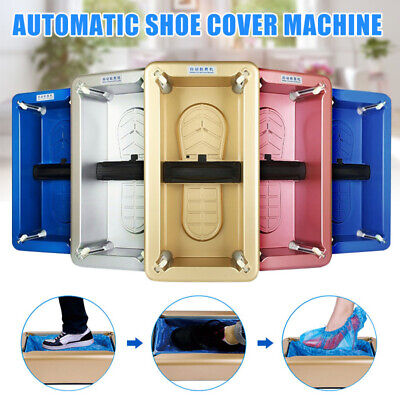 HOT Automatic Shoe Cover Dispenser Machine Waterproof Home Cover Cleaning
