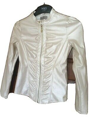 Girls Guess Jacket. Champagne Colour. To Fit Age 12.