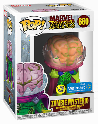 Funko Pop Marvel Zombies Mysterio 660 Glow Wal Mart New Preorder
