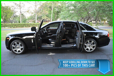 2010 Rolls-Royce Ghost SEDAN - BLACK ON BLACK - JAW DROPPING - BEST DEAL ON EBAY phantom bentley continental flying spur mercedes benz s600 maybach mulsanne
