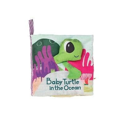 Manhattan Toy What's Outside? Sea-Themed Soft Baby Activity Book
