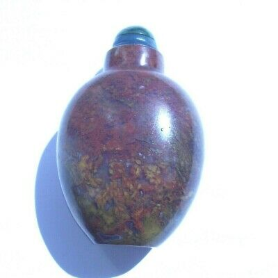 Lovely Old  Hardstone Or Glass Chinese Snuff Bottle