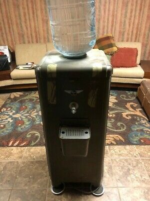 Antique HIRES ROOT BEER OFFICE WATER COOLER VERY RARE 1950's ERA W/WATER BOTTLE