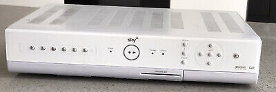 Sky Plus White Box Comes Remote Power Cable Scart And Viewing Card
