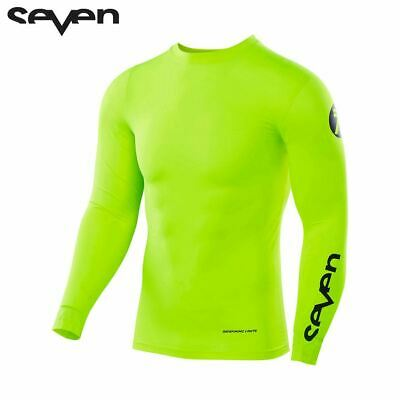 Seven MX Youth Compression Under Jersey (Zero Flo Yellow)